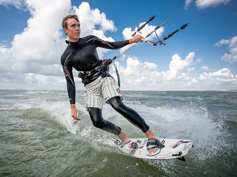 Sport Fotograf Wassersport Kite Surfing