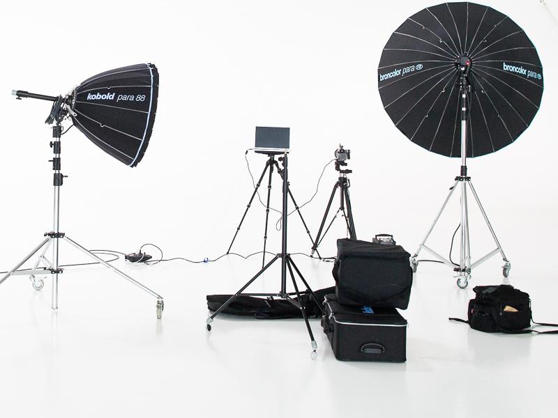 Fotograf Technik Fotostudio