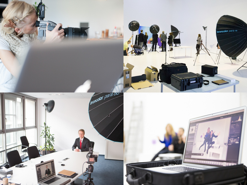 Studiofotografie Bürofotografie On Location