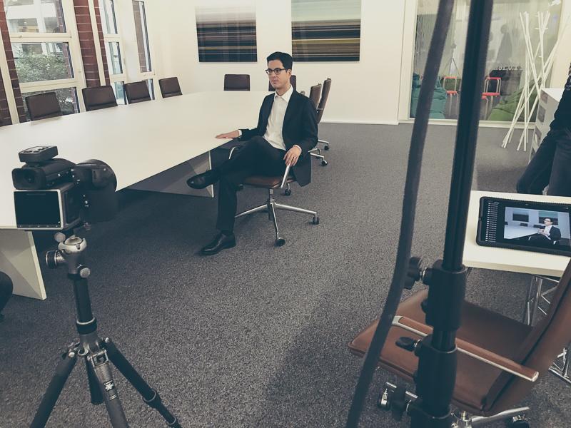 Shootingplanung Vorstandsfotografie