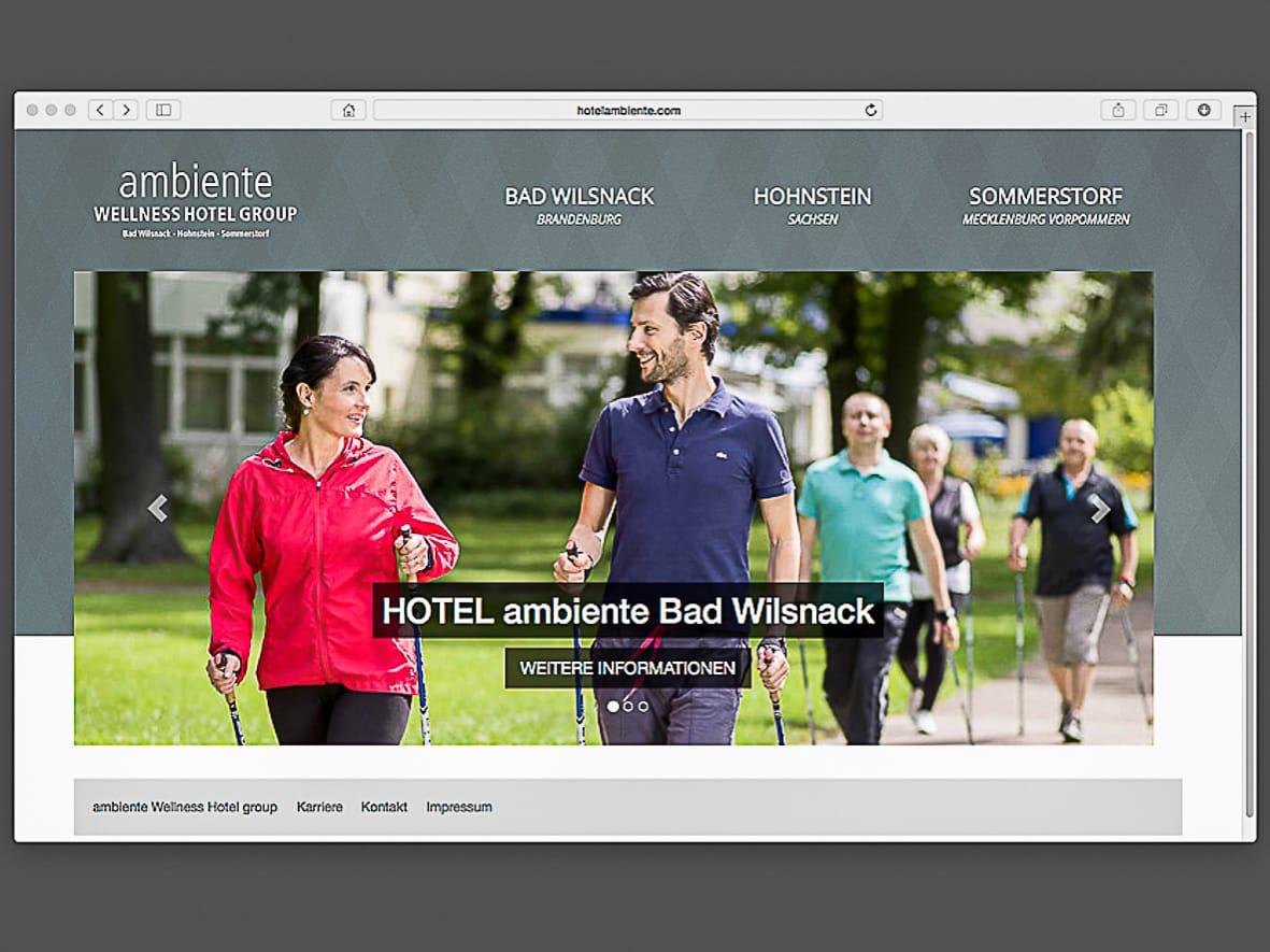 ambiente wellness hotel