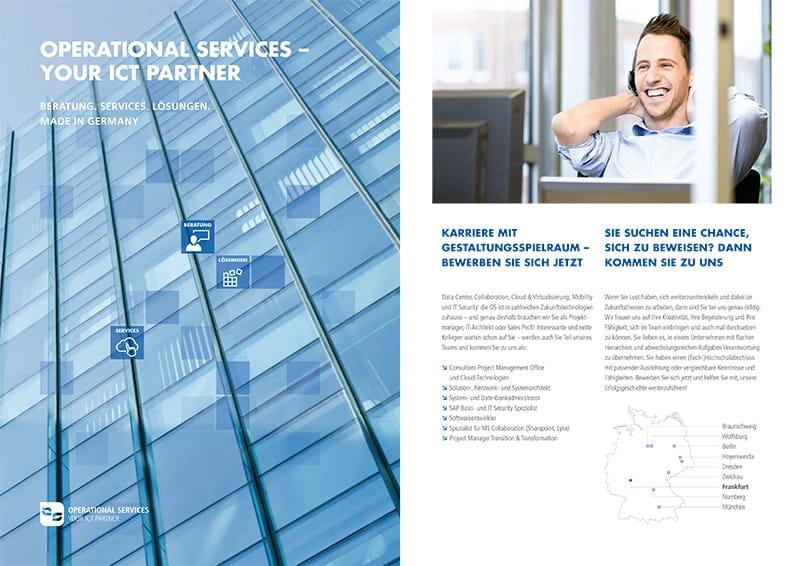 operational services - Broschüren