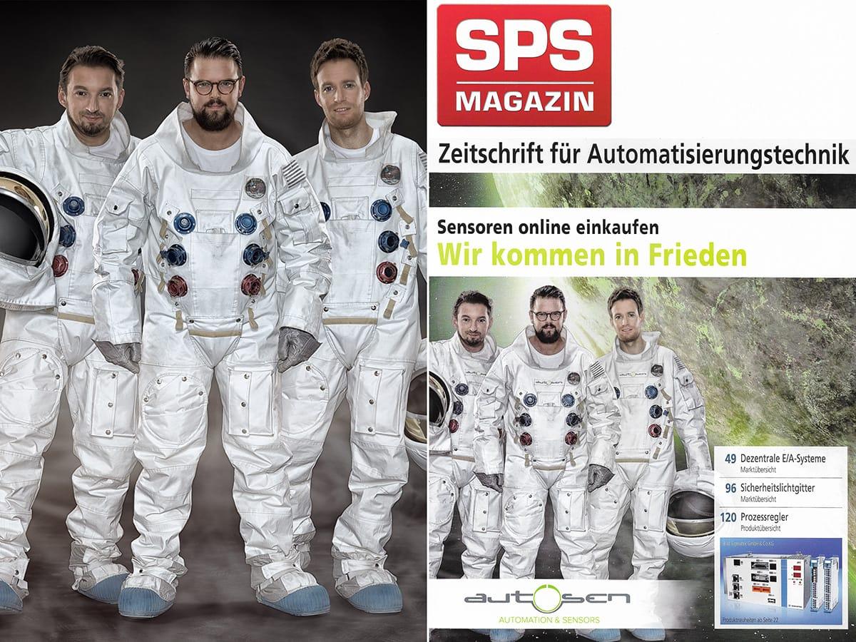 autosen Astronauten