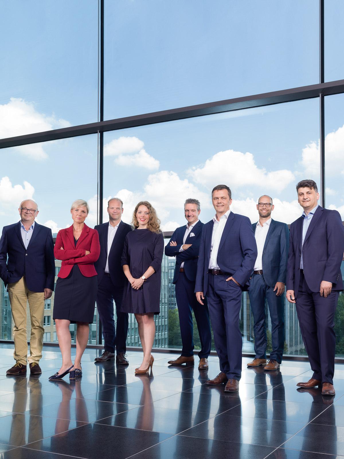Gruppenbilder Vorstand
