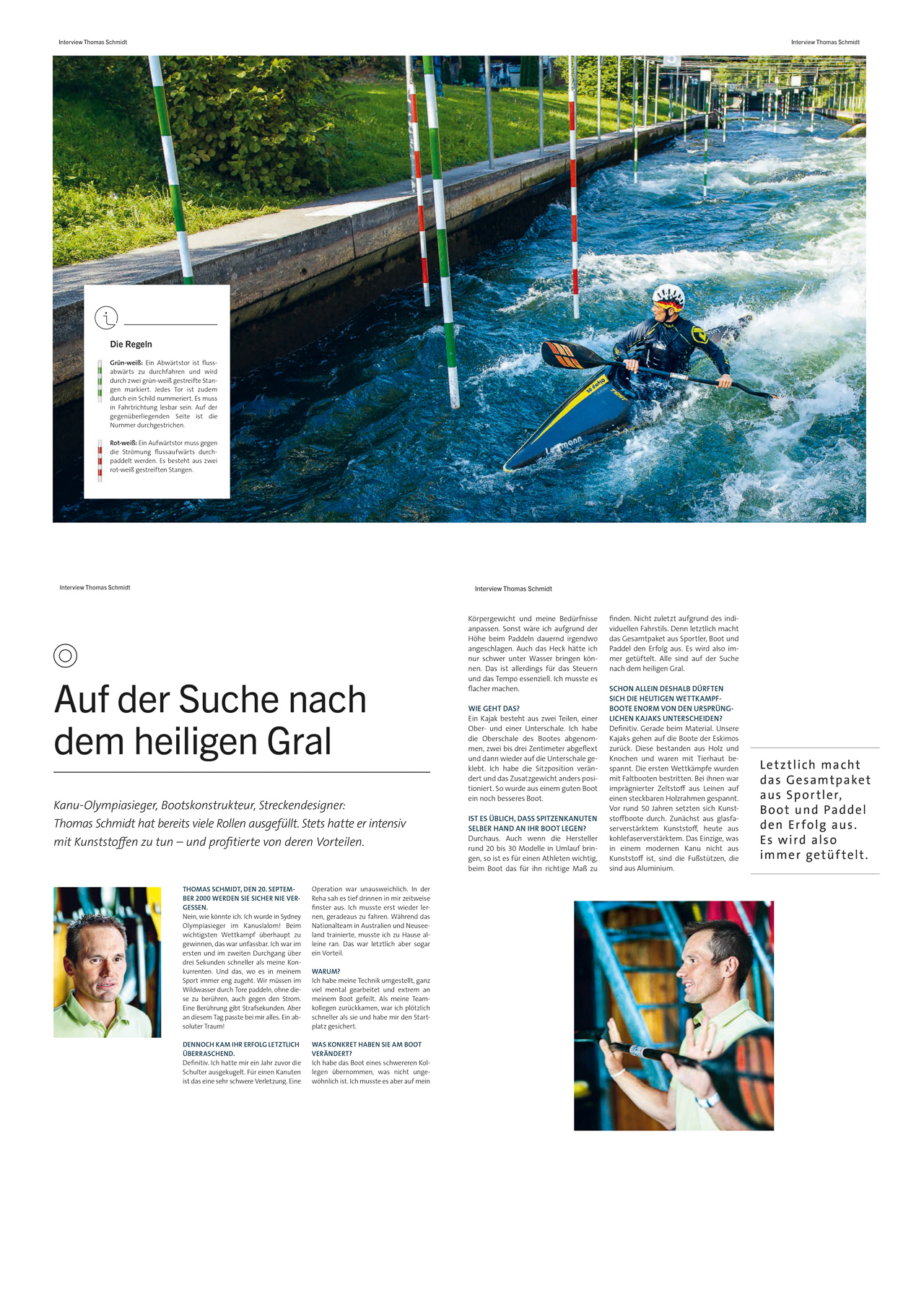 Kanu-Olympiasieger Thomas Schmidt für Freudenberg