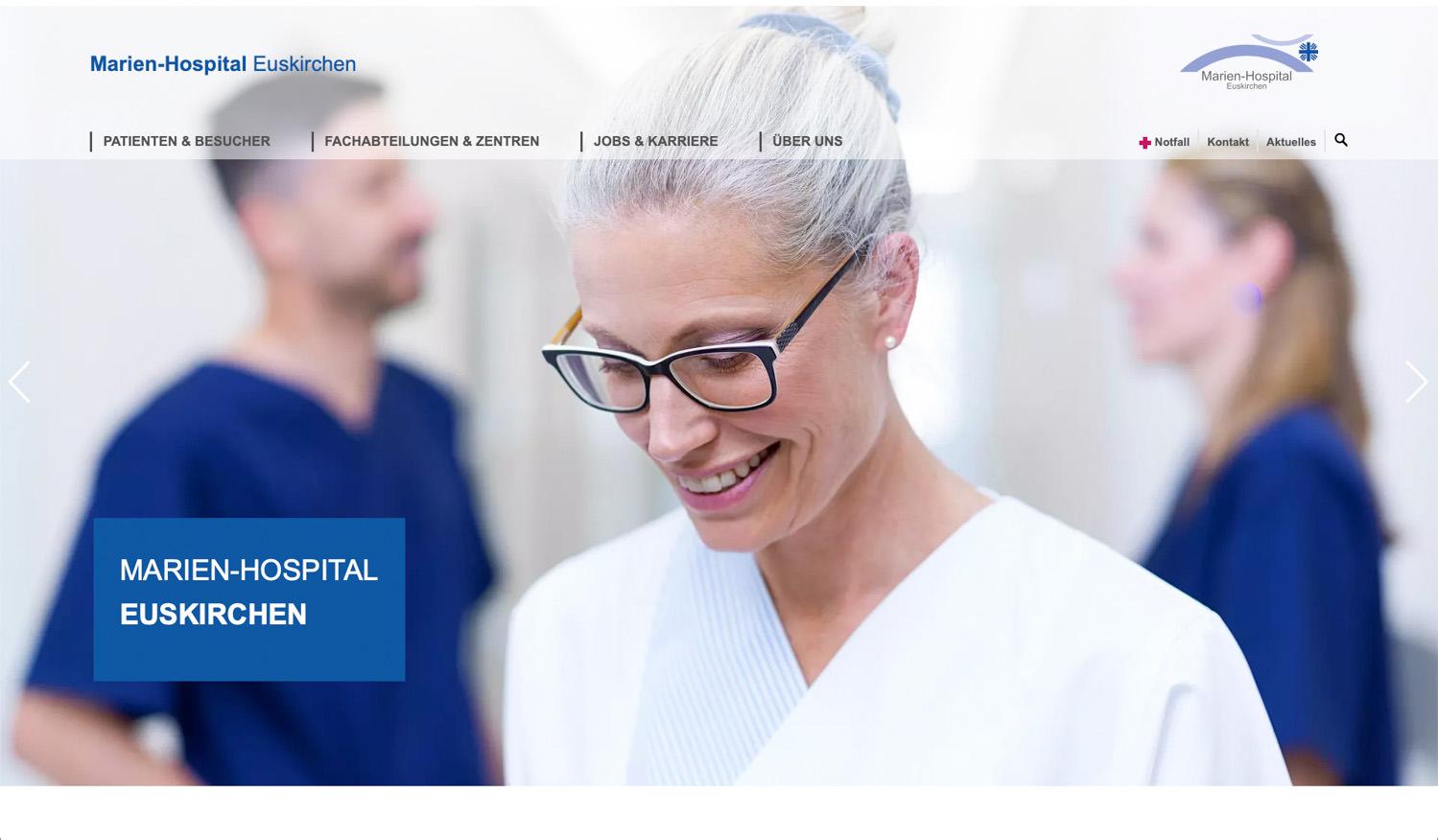 Fotoproduktion für Marien-Hospital-Euskirchen