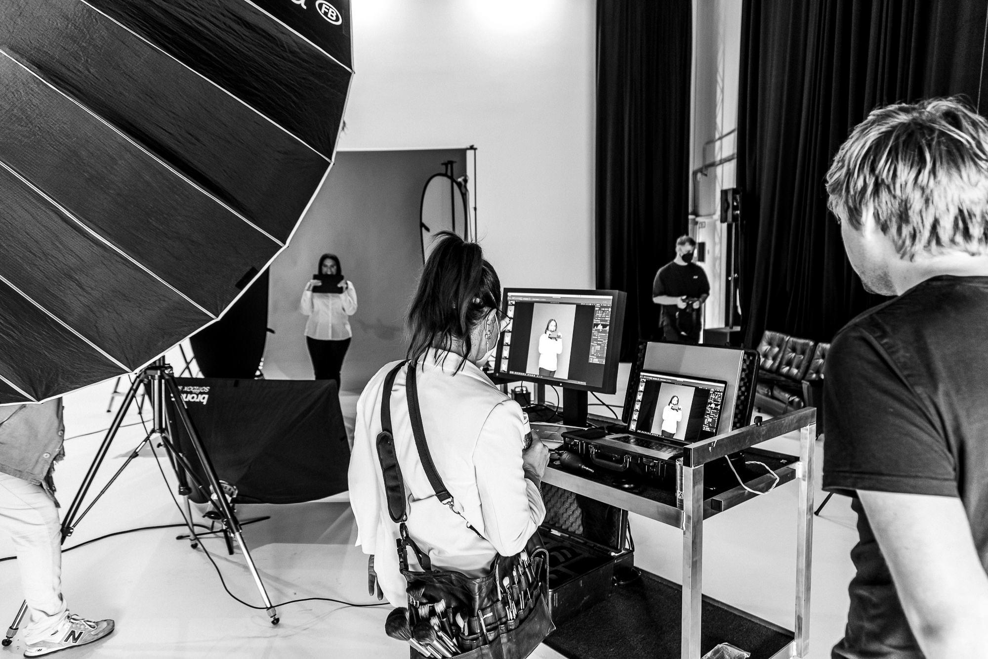 Peoplefotografie Stölting Group Recruiting Kampagne Making Of