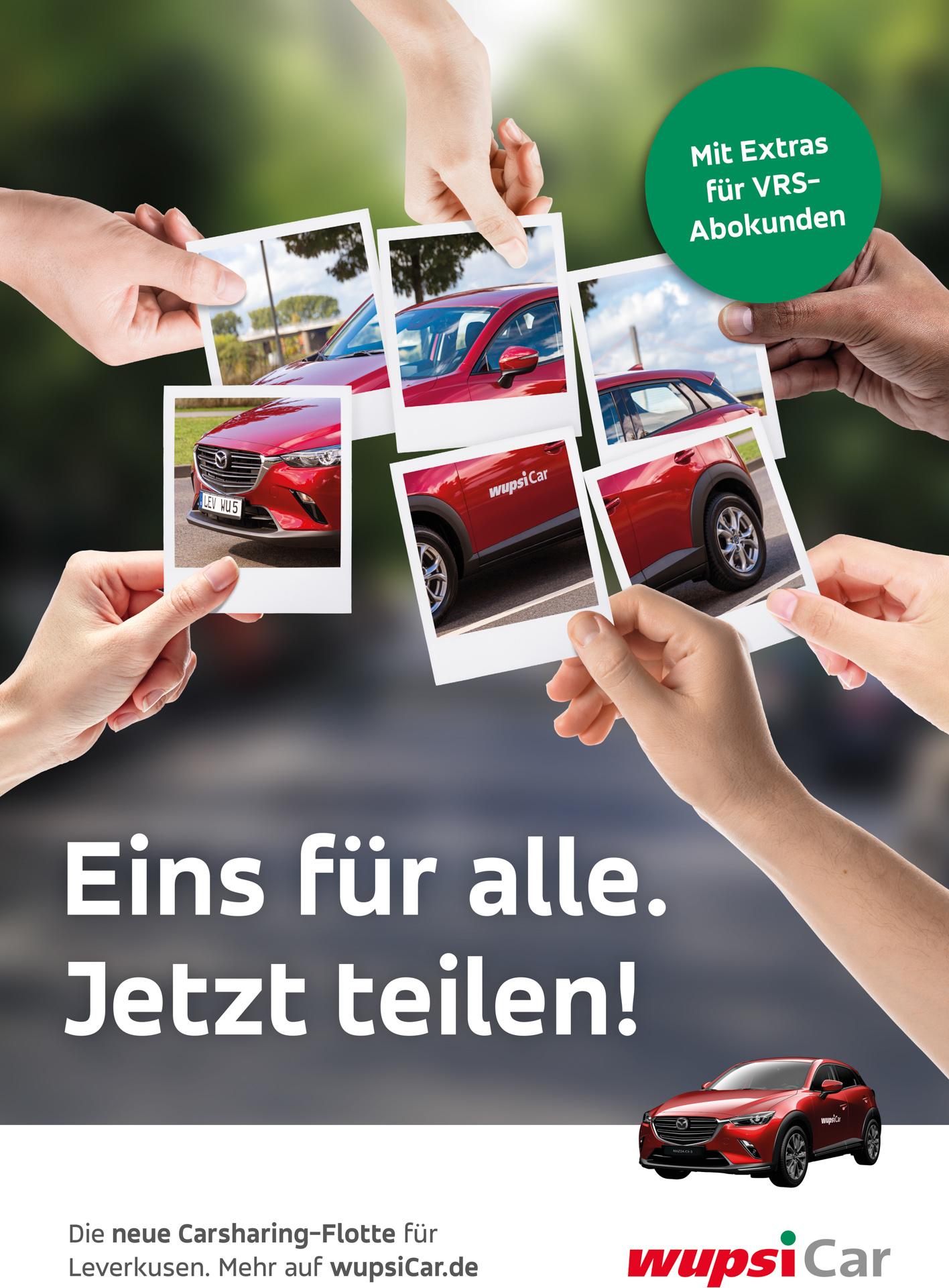 wupsiCar Plakat